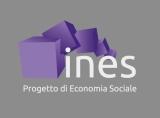 logo_ines_viola con sfondo grigio